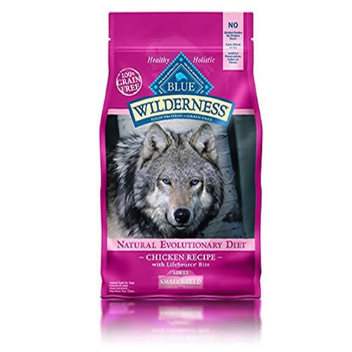BLUE Wilderness Adult Small Breed Grain-Free Chicken Dry Dog Food