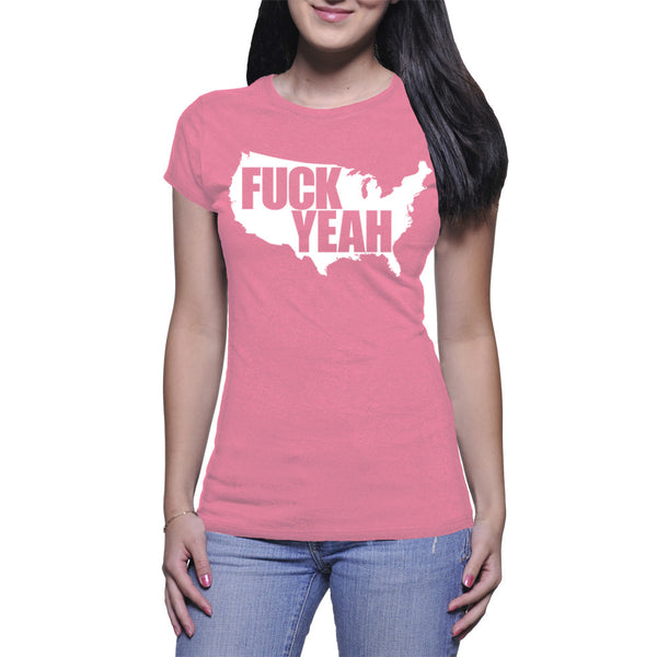 LADIES T-SHIRT - PINK - UNCENSORED