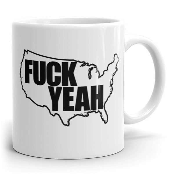 COFFEE MUG - WHITE - UNCENSORED
