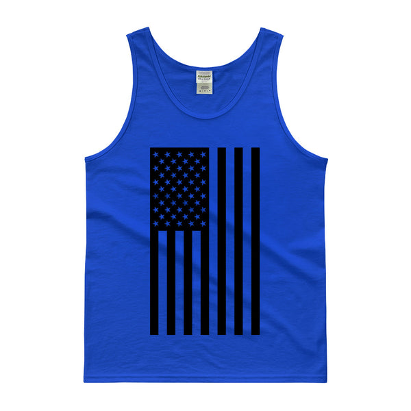 AMERICAN FLAG TANK TOP - BLUE