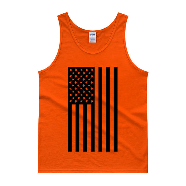 AMERICAN FLAG TANK TOP - ORANGE