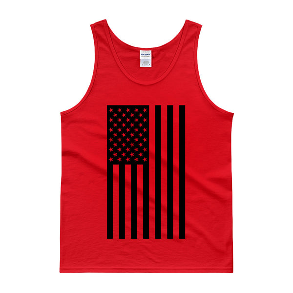 AMERICAN FLAG TANK TOP - RED