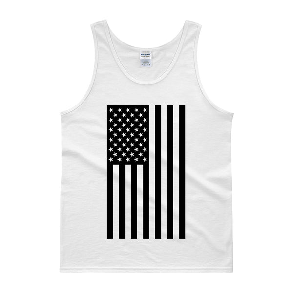 AMERICAN FLAG TANK TOP - WHITE