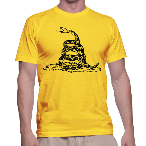 GADSDEN FLAG T-SHIRT - YELLOW