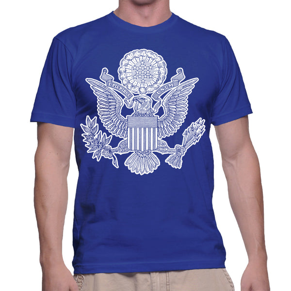 GREAT SEAL T-SHIRT - BLUE