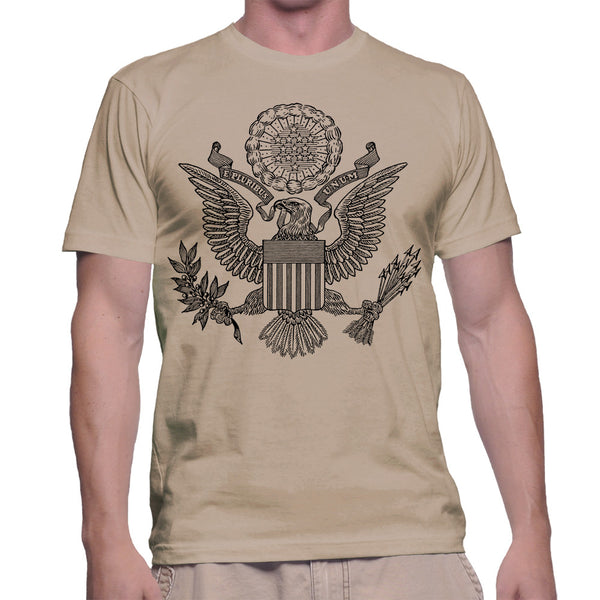 GREAT SEAL T-SHIRT - DESERT