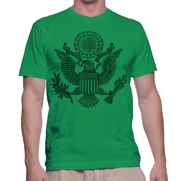 GREAT SEAL T-SHIRT - GREEN