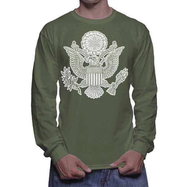 GREAT SEAL LONG SLEEVE - MILITARY GREEN