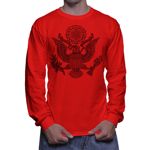 GREAT SEAL LONG SLEEVE - RED