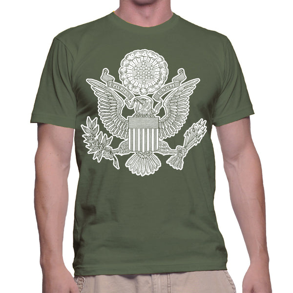 GREAT SEAL T-SHIRT - MILITARY GREEN