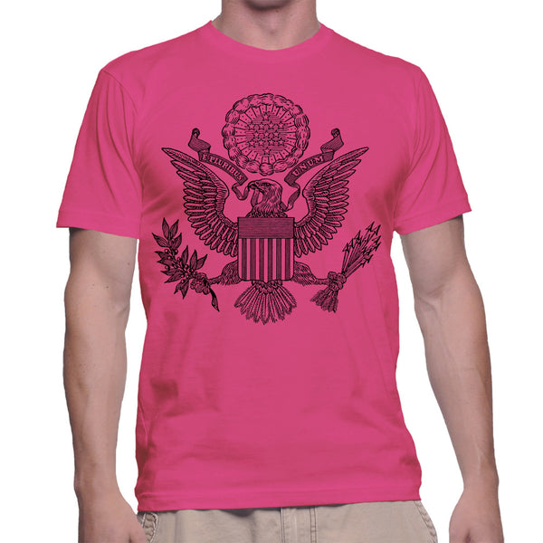 GREAT SEAL T-SHIRT - PINK