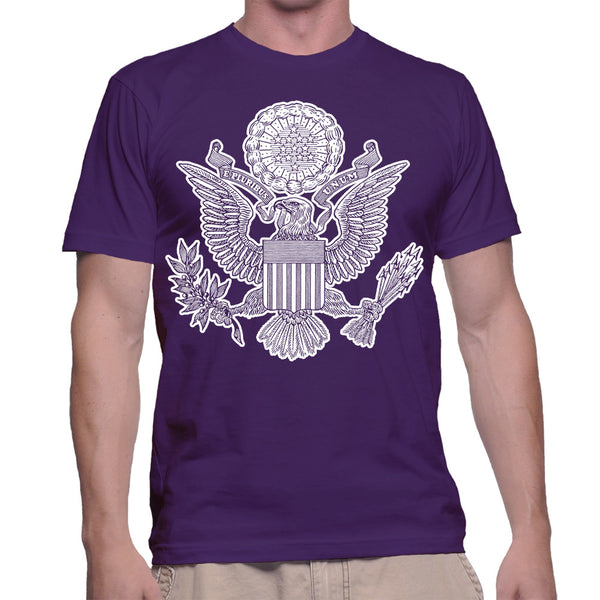 GREAT SEAL T-SHIRT - PURPLE