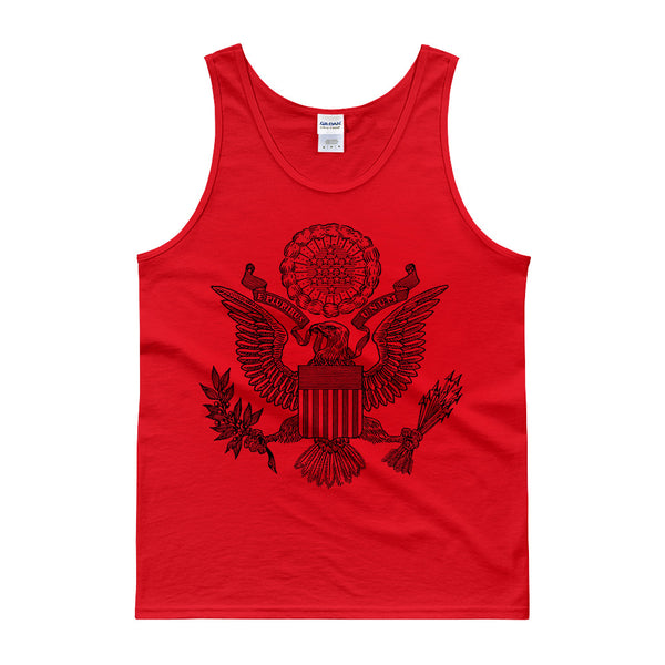 GREAT SEAL TANK TOP - RED