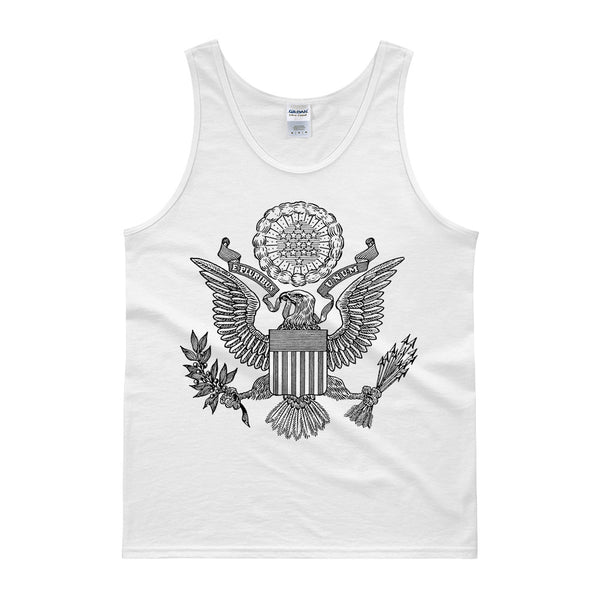 GREAT SEAL TANK TOP - WHITE