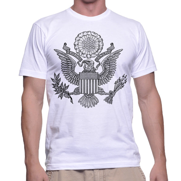 GREAT SEAL T-SHIRT - WHITE