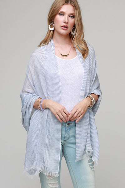 Stripe Lightweight Scarf, 3 Colors
