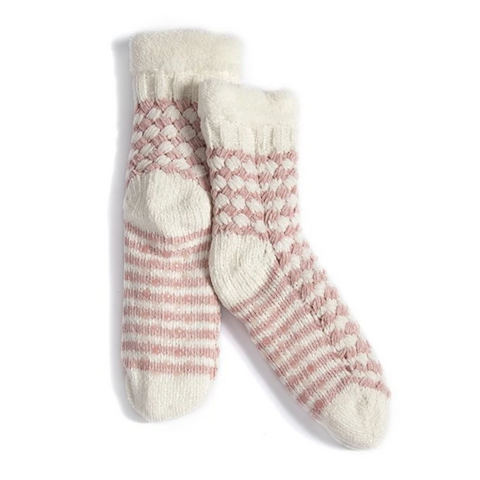 Slipper Socks, Pink