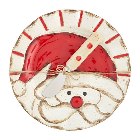 Santa Salad Bowl Set