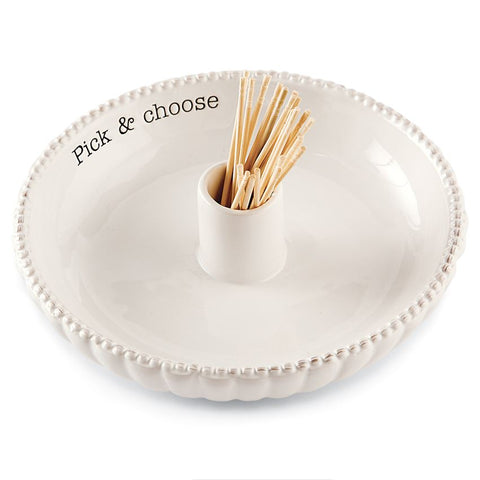 Ceramic Toothpick Server