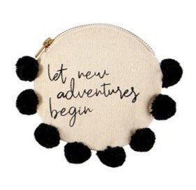 New Adventures Pom Pom Pouch