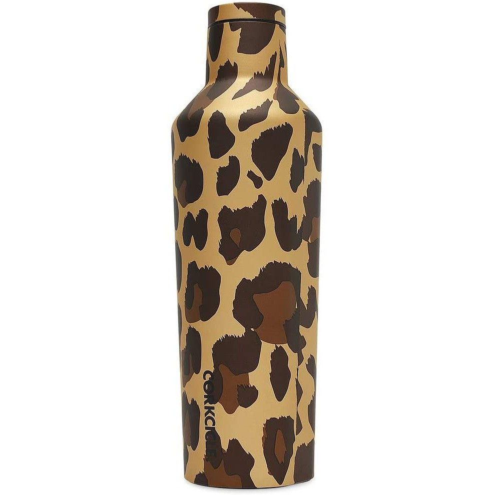Corkcicle Canteen, Leopard, 2 Sizes