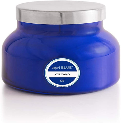 Blue Jar Volcano Candles, 2 Sizes