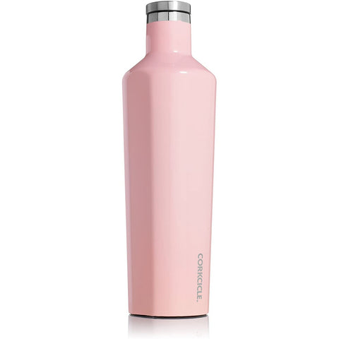 Corkcicle Canteen, Gloss Rose, 2 Sizes