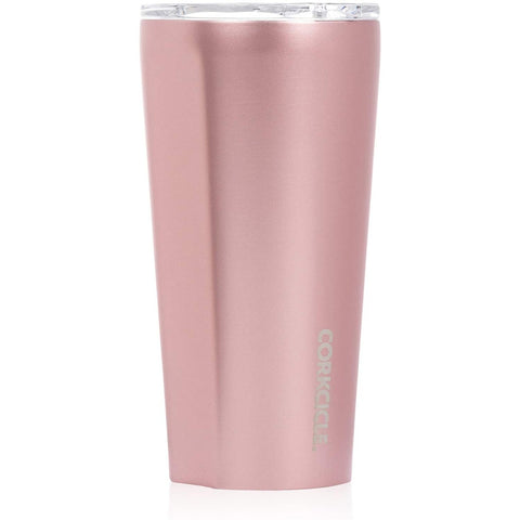 Corkcicle Tumbler, Rose Metallic, 2 sizes