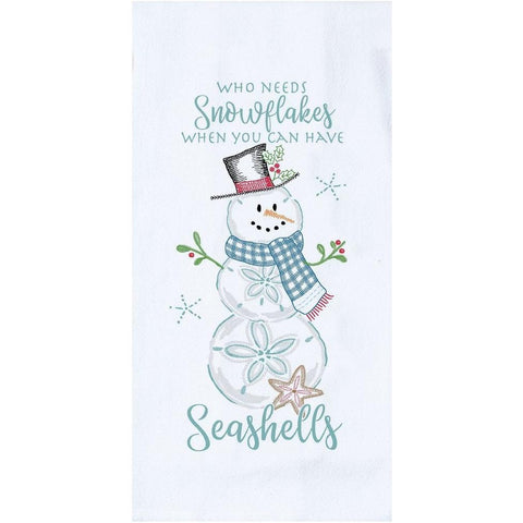 Who Needs Snowflakes Towel