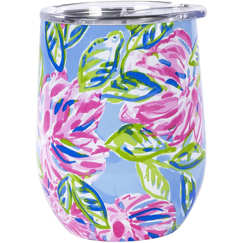 Insulated Stemless Tumbler, Totally Blossom