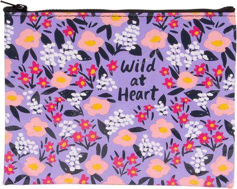 Wild At Heart Zip Pouch