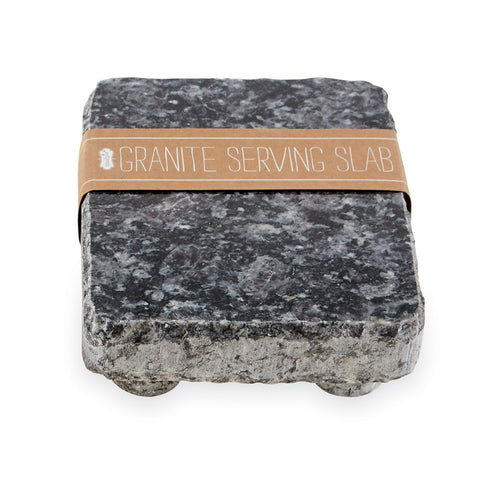 Granite Serving Slab, Black