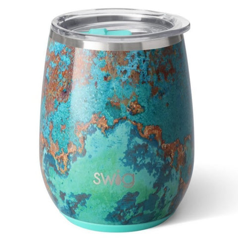 Swig Stemless Wine Cup, Copper Patina