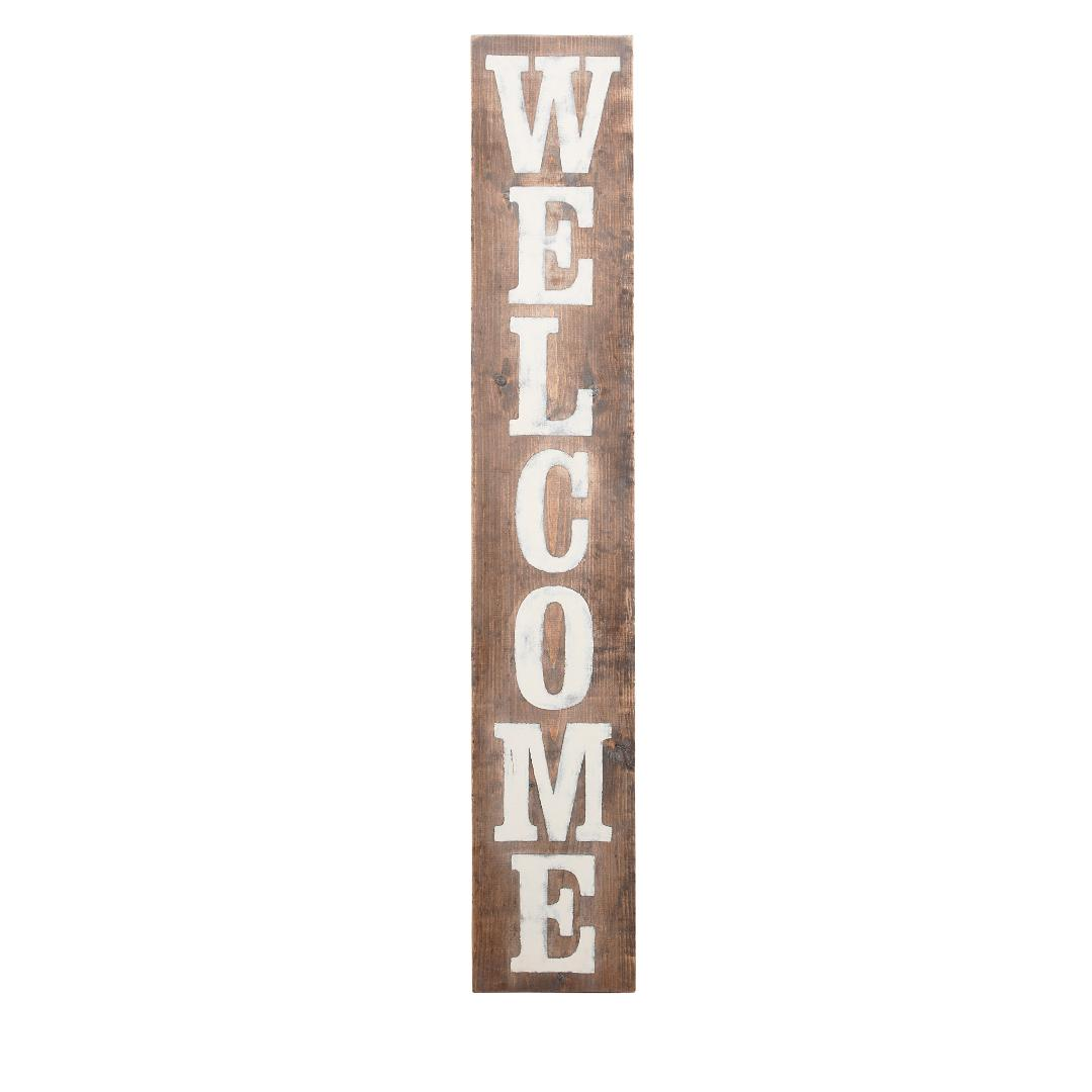 Welcome Wood Board