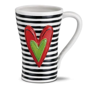 Black Stripes Mug