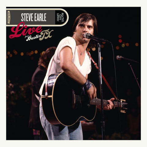 Steve Earle - Live From Austin, TX [CD/DVD]