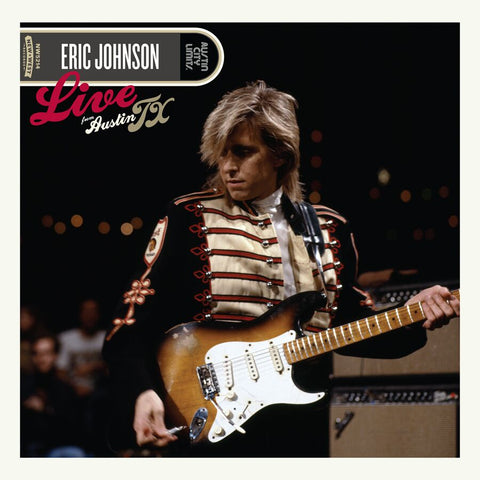 Eric Johnson - Live From Austin, TX [CD/DVD]