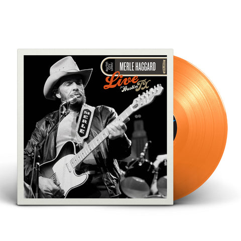 Merle Haggard - Live From Austin, TX [Exclusive Orange Vinyl]
