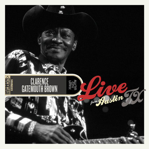 Clarence Gatemouth Brown - Live From Austin, TX [CD/DVD]
