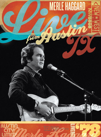 Merle Haggard '78 - Live From Austin, TX [DVD]