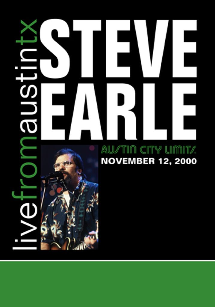 Steve Earle - Live From Austin, TX (2000) [DVD]