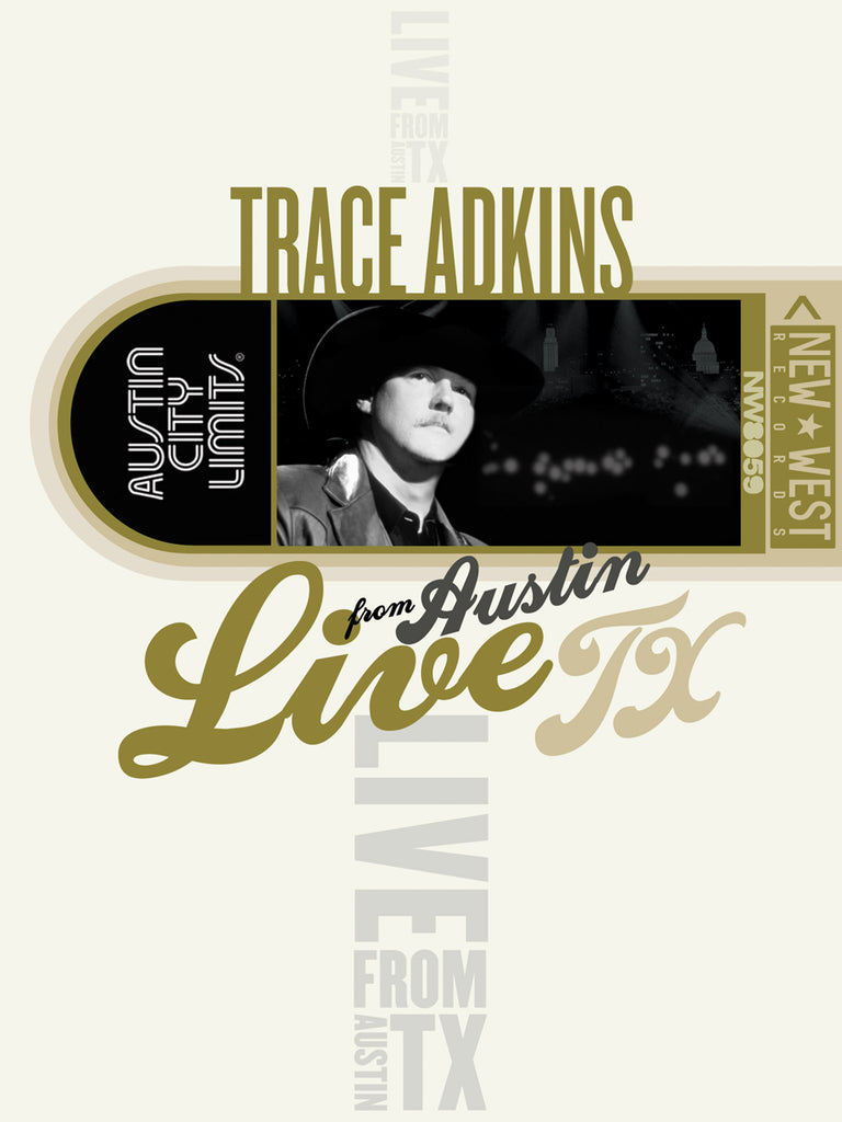 Trace Adkins - Live From Austin, TX [DVD]