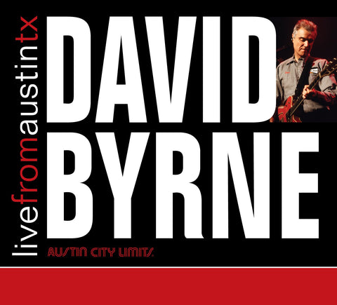 David Byrne - Live From Austin, TX [CD]