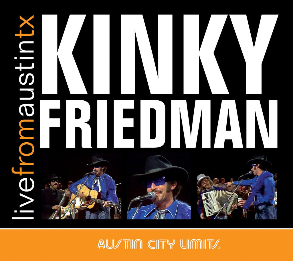 Kinky Friedman - Live From Austin, TX [CD]
