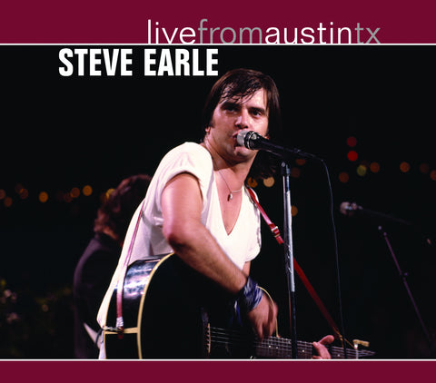 Steve Earle - Live From Austin, TX [CD]