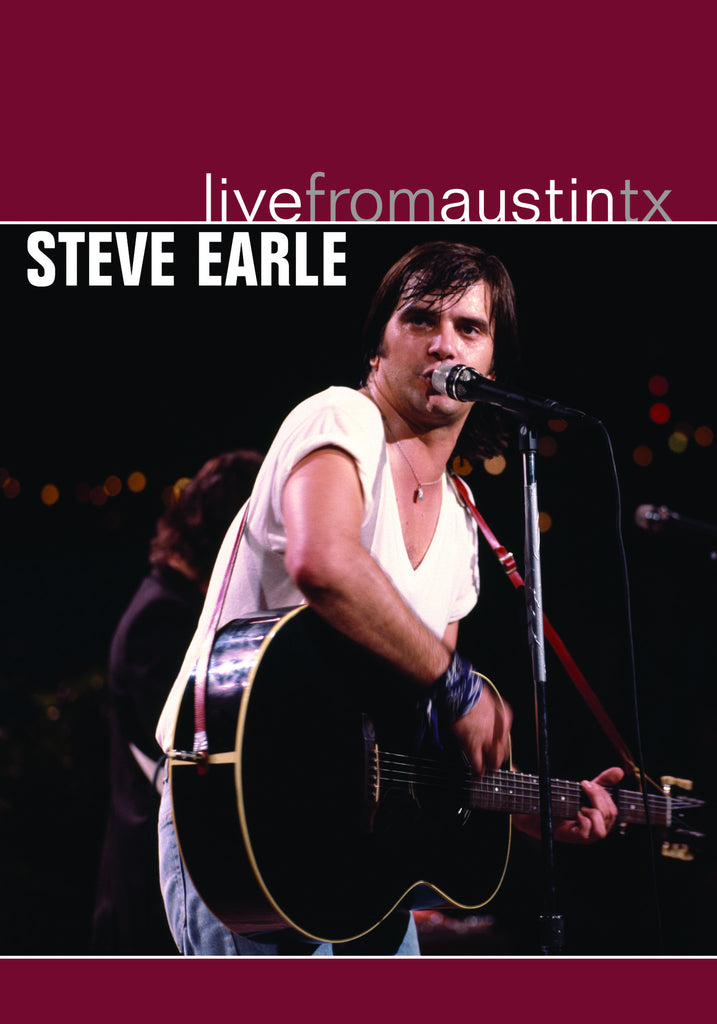 Steve Earle - Live From Austin, TX [DVD]
