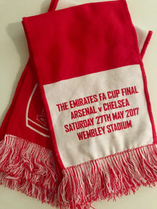 First 60 Members to visit the FA Cup Receive Commemorative Scarves
