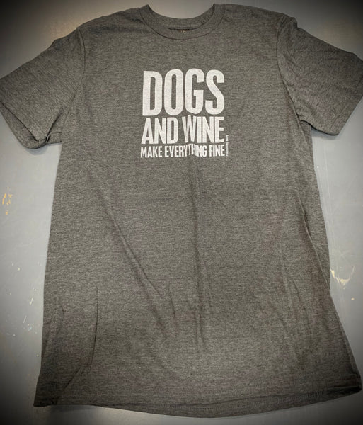 Dogs And Wine T-shirt