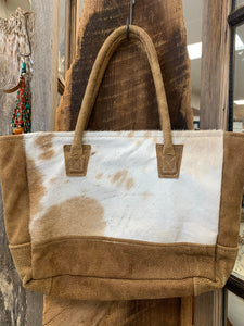 Small Cowhide Satchel