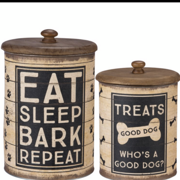 Good Dog Treat Cannister